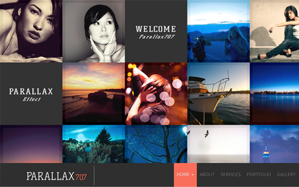 Parallax707 | Business & Corporate | WrapBootstrap