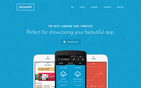 DOWNLOAD - Showapp - Premium App Showcase Template