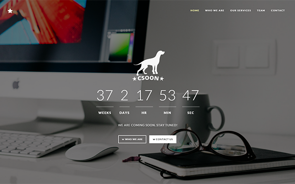 DOWNLOAD - Csoon - Startup and Coming Soon Theme