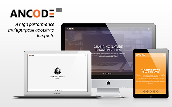 DOWNLOAD - Ancode - Multipurpose Template