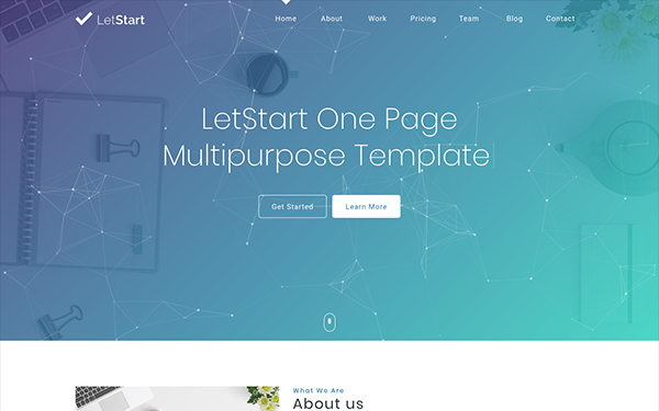 DOWNLOAD - Letstart - App and Landing Pages