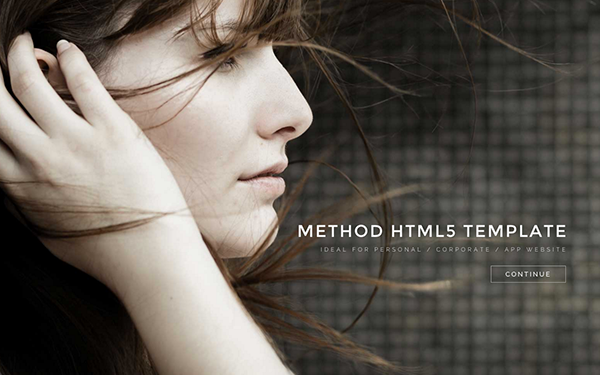 Method - Universal One Page  HTML