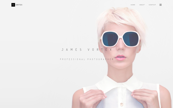 Vortex responsive wordpress theme