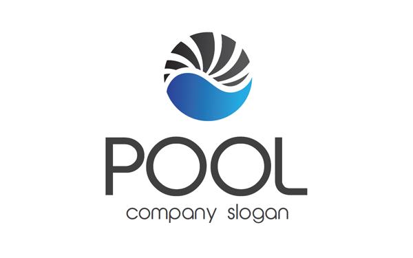 Free swimming pool logo design joy studio design gallery for Pool design logo