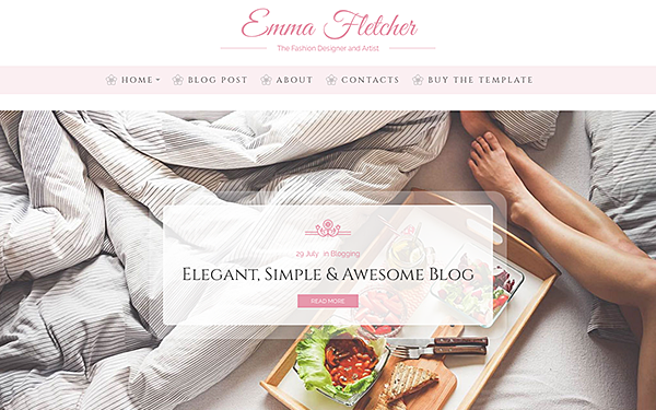 Emma - Beauty Blog HTML Template