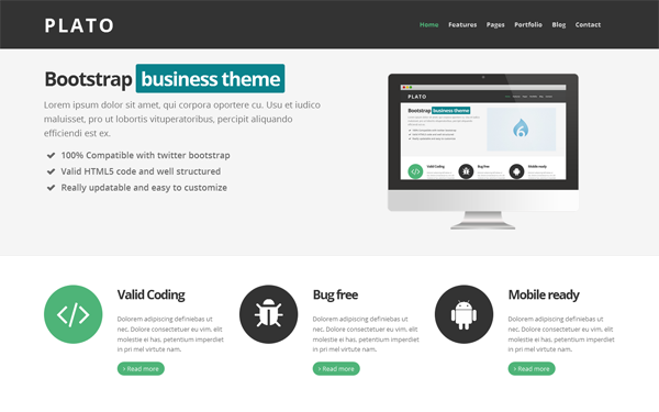 Plato Business Theme