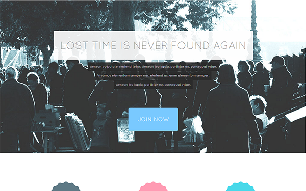 Tempus - Modern Landing Page - Live Preview - WrapBootstrap