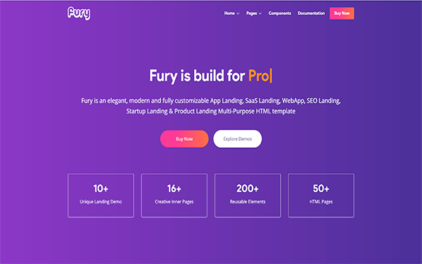 DOWNLOAD - Fury - Complete Landing Page Solution