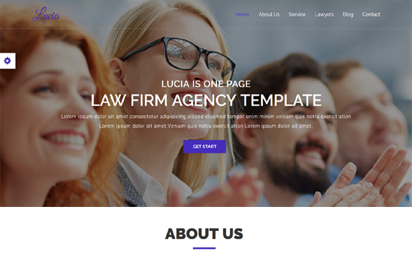 DOWNLOAD - Lucia - Law Firm / Agency HTML Template