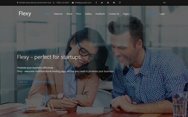 FLEXY - Business MultiPurpose Theme