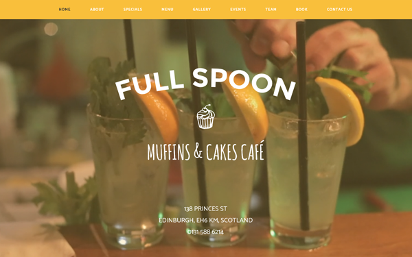 DOWNLOAD - Full Spoon - Restaurant Template