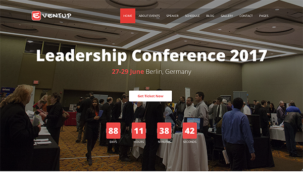 Eventup - Event Conference Template