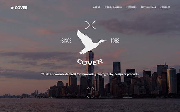 Cover - Responsive Multipurpose Template