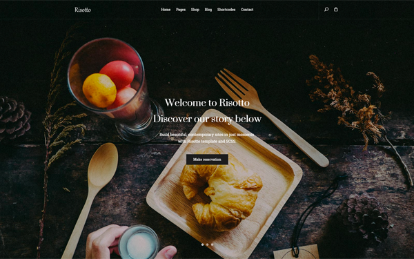 Risotto - Responsive Restaurant Template
