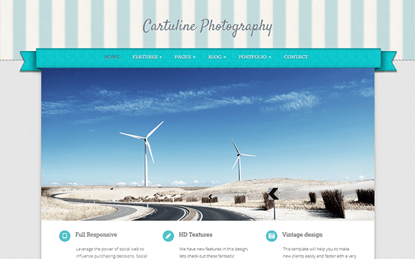 Cartuline - Responsive Template - Live Preview - WrapBootstrap