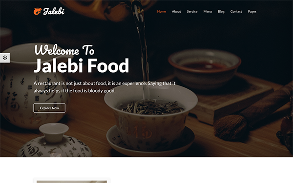 DOWNLOAD - Jalebi - Bootstrap4 Restaurant Template