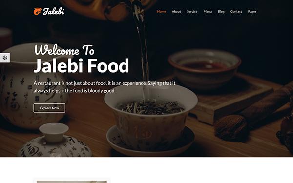 Jalebi - Bootstrap4 Restaurant Template
