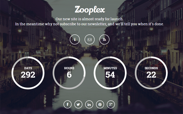 Zooplex - Coming Soon Template