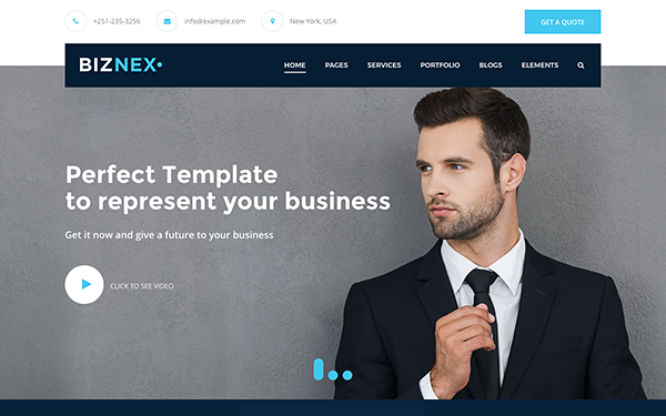 DOWNLOAD - BIZNEX - Multipurpose Business Theme