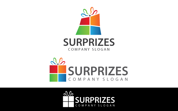 Surprize Gift Box Logo Template