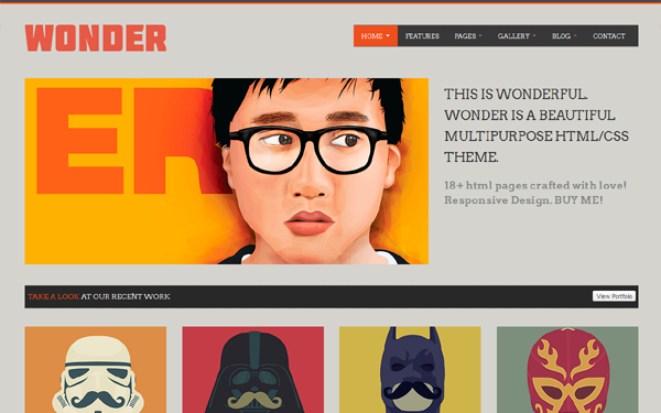 WONDER - Multipurpose Theme