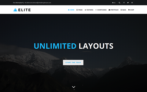 Elite - Multi-Purpose WordPress Theme