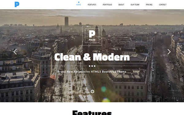 PULSE - Modern MultiPurpose Template - Live Preview - WrapBootstrap