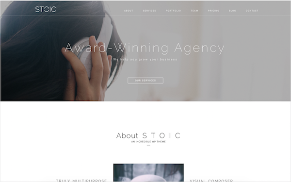 DOWNLOAD - Stoic | Multipurpose WordPress Theme