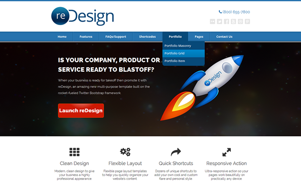 reDesign Multi-Purpose Business Theme
