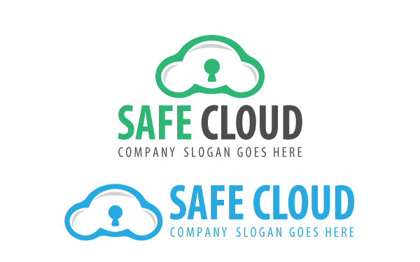 Safe Cloud Logo Template