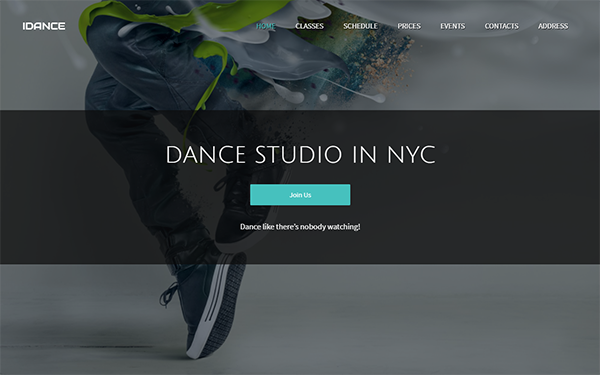 [DOWNLOAD] - IDance - Dance or Yoga Studio Template