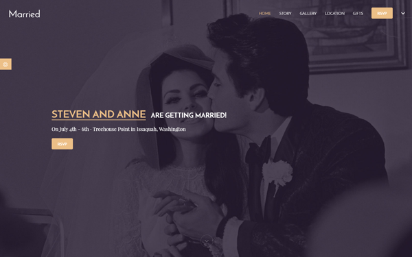 DOWNLOAD - Married | 3 in 1 Wedding Template
