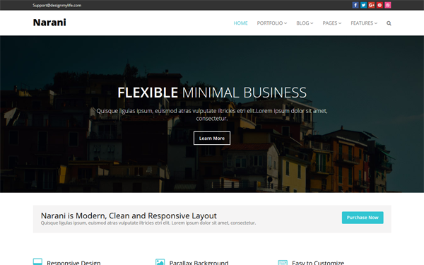 NARANI - Responsive Multi Layouts Theme