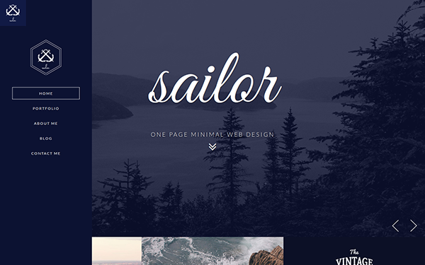 Sailor Creative Portfolio Template - Live Preview - WrapBootstrap