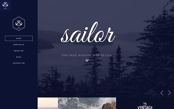 sailor creative portfolio template wrapbootstrap