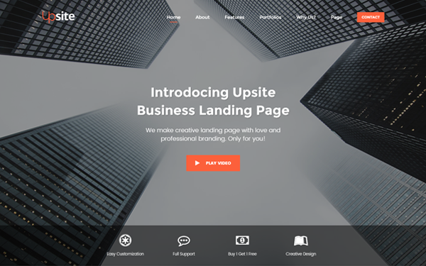 Upsite Responsive Business Template