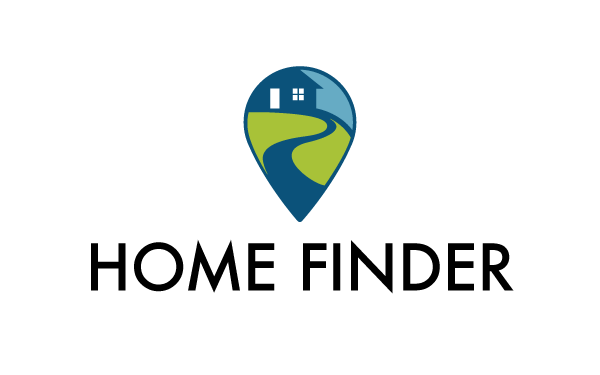 HomeFinder - Real Estate Logo