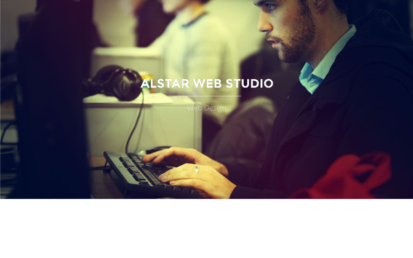Alstar - One Page Parallax - Live Preview - WrapBootstrap