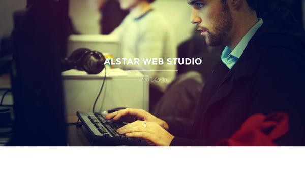 Bardcrack Soluciones Integrales. Desarrollo de plataformas Web, tiendas en linea y mas. Plantilla Web Alstar - One Page Parallax - Live Preview - WrapBootstrap