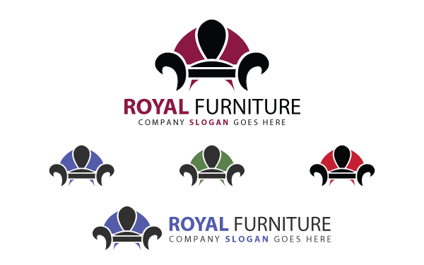 Delicieux Royal Furniture Logo Template