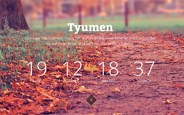 Tyumen - Coming Soon Template