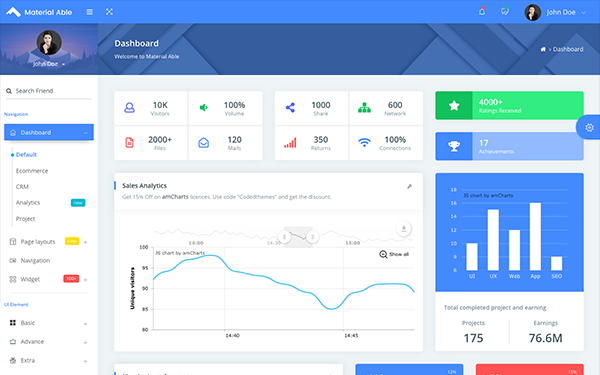 DOWNLOAD - Material Able - Bootstrap Admin Template