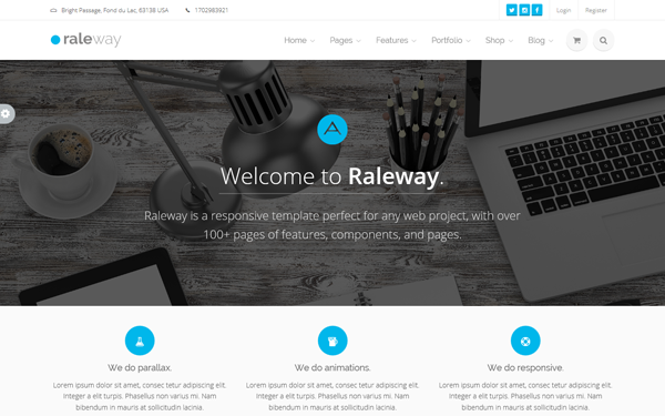 DOWNLOAD - Raleway | Mega Bootstrap Template