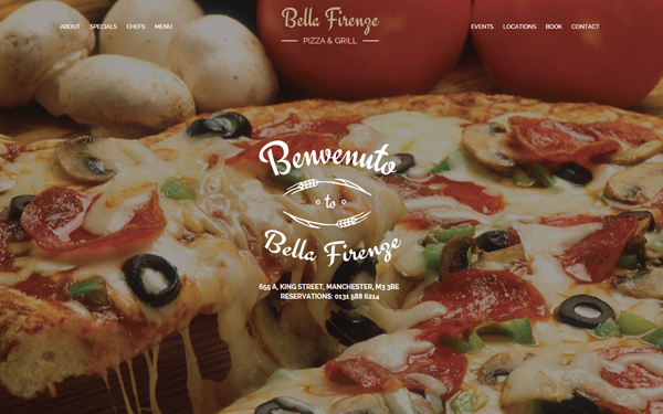 Bella Firenze - Restaurant Template