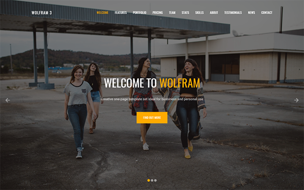 Wolfram - 6 Landing Pages in 1