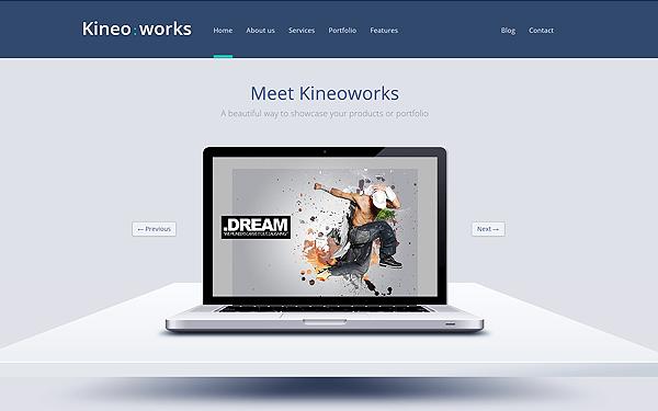 Kineoworks - Responsive Portfolio Theme - Live Preview - WrapBootstrap