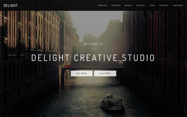 Delight - Multipurpose One Page Template - Live Preview - WrapBootstrap