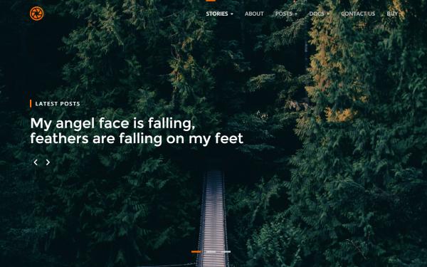 Libre - Professional Blog Theme