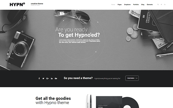 HYPNO - Multipurpose Template - Live Preview - WrapBootstrap