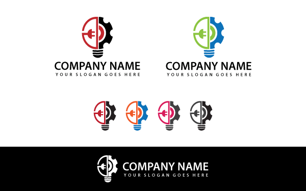 Idea-tech Logo Template